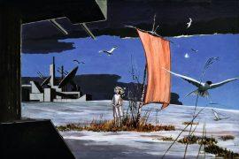 Karl Witti, Erinnerungsbild, 2005, Acrylfarbe auf Papier, Werkverzeichnis 242